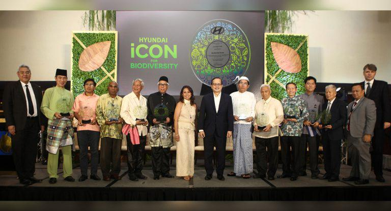 Hari Foundation amplifies fight for environment, Awards the 10 ASEAN Biodiversity Heroes with the Hyundai icon for Biodiversity