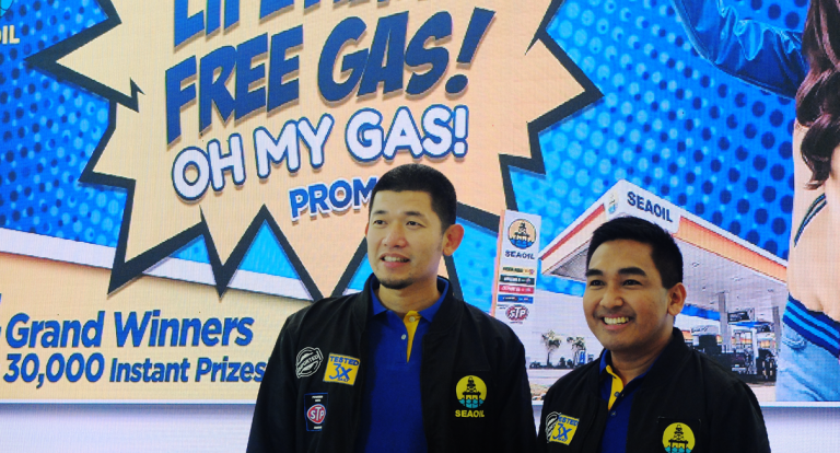 SEAOIL to give away lifetime supply of gas in raffle promo