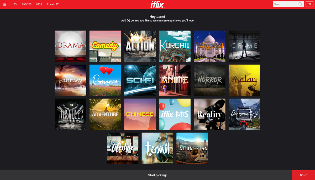 Iflix introduces channels and personalization features gadgets iflix stopboris Choice Image