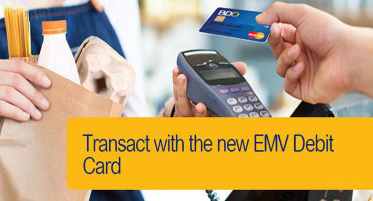 BDO Urges Clients to Shift to EMV-chip Card