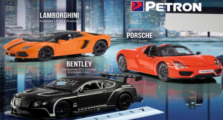 Limited Edition Petron Supercars 2017