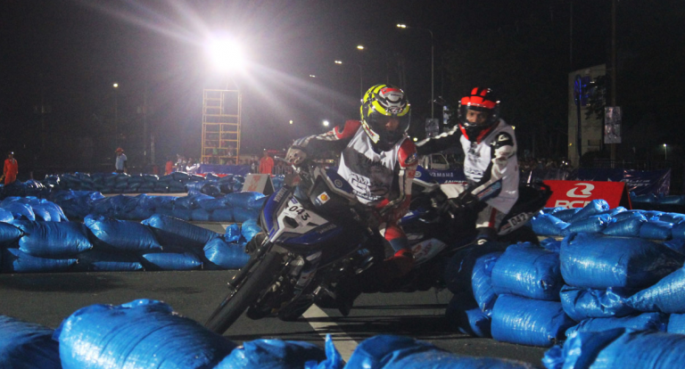 Yamaha Grand Prix 8 holds championship races at Rizal Park