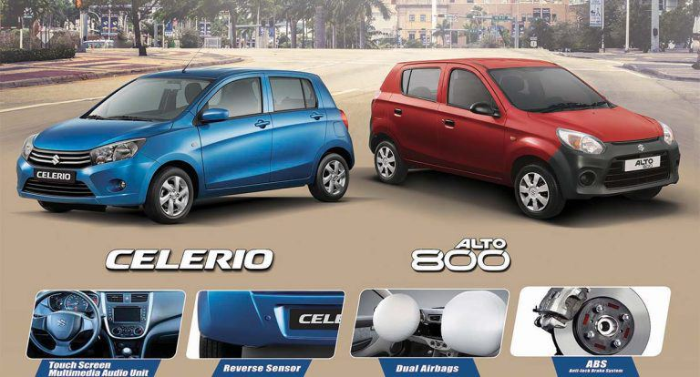 New Safety Features Come to the Suzuki Celerio and Alto