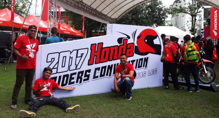 Honda brings 2017 Riders Convention to Visayas