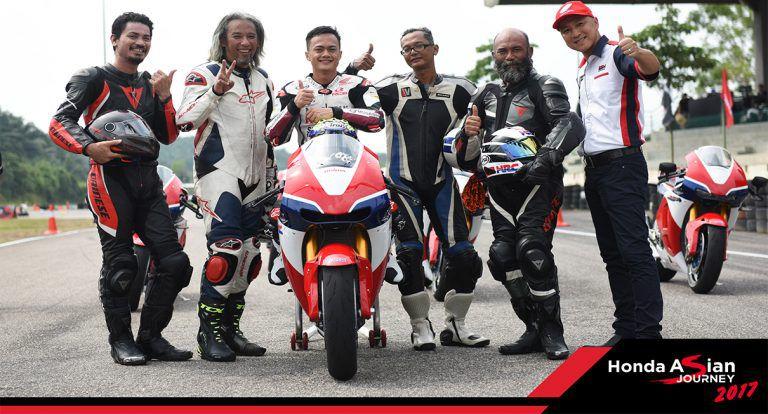 Honda Holds Asian Journey 2017 Bike Caravan