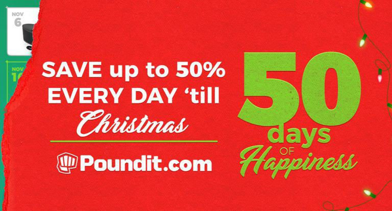 Breakout Electronics Store Poundit Counts Down to Christmas