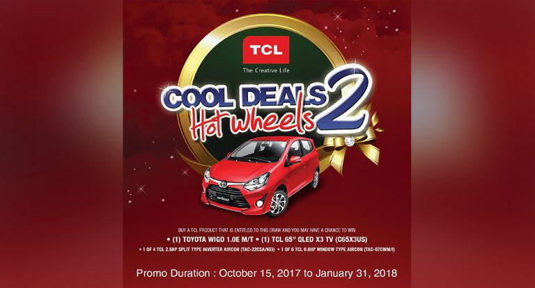 Bring Home a Wigo with TCL's Cool Deals Hot Wheels Promo 2