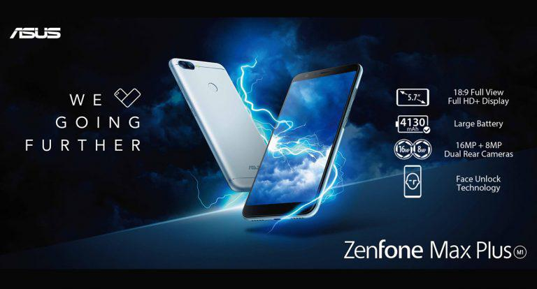 ASUS kicks off year with release of ZenFone Max Plus