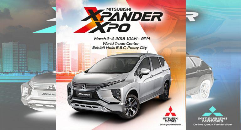 Mitsubishi Motors Philippines Gears Up for 3-day XPANDER XPO