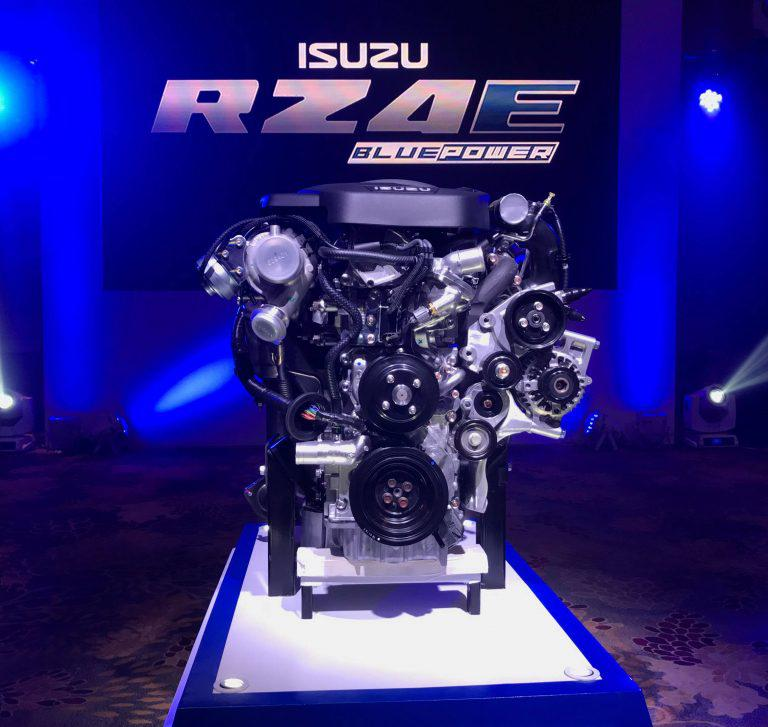 Isuzu PH Launches New, More Efficient RZ4E Engine