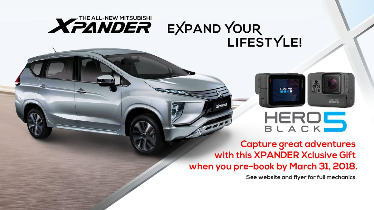 Reserve the all-New Mitsubishi XPANDER and get your own ...