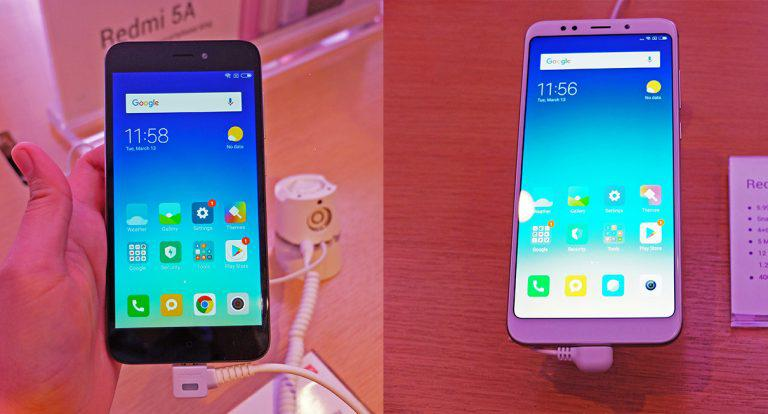 Xiaomi Officially Returns to PH; Launches Redmi 5A and 5 Plus