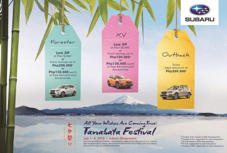 2018 Tanabata Festival Turn Wishes Into Reality With Subaru