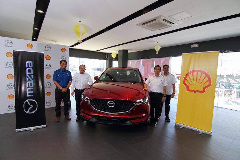 Mazda and Shell Partnership to Benefit New Car Buyers