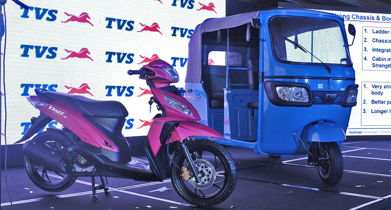 TVS Motor Company Launches Dazz and King