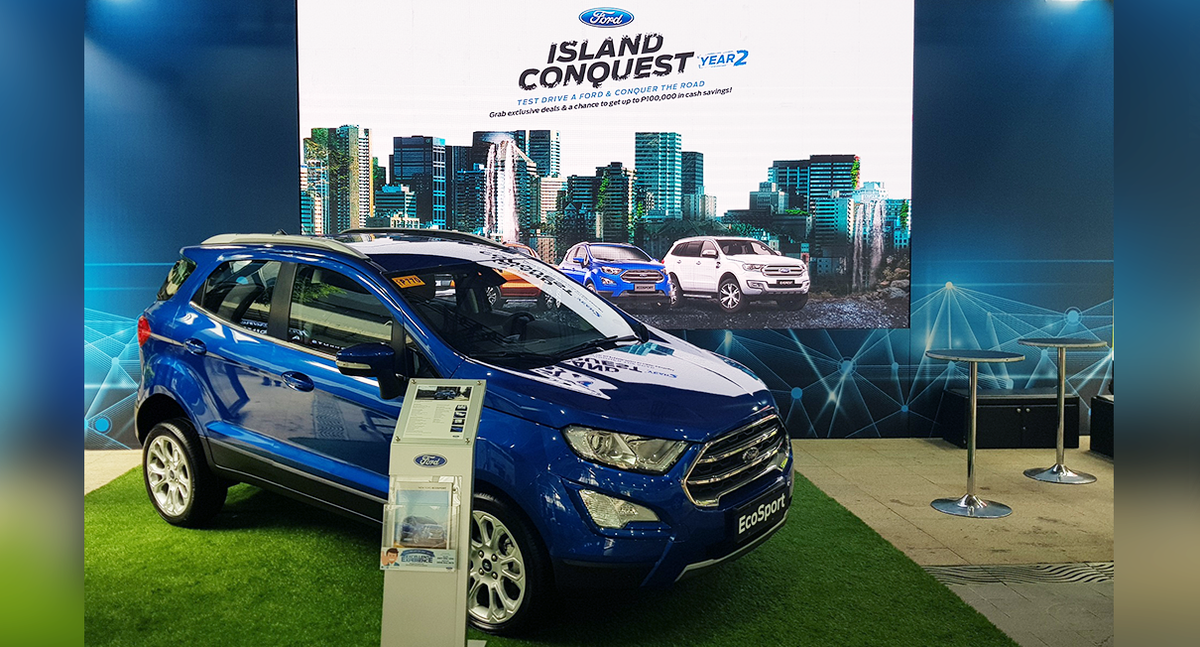 Ford Philippines Is Bringing Back The Ford Island Conquest This Year Its Highly Successful Experiential Test Drive Roadshow Launched Last Year To Reach