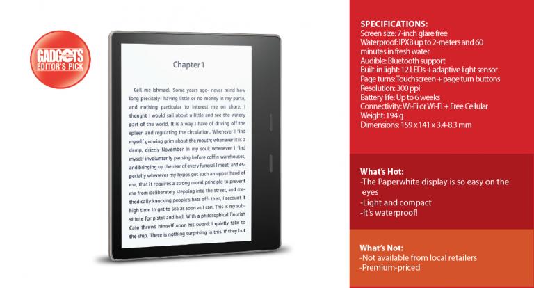 Reviewed: Kindle Oasis eReader