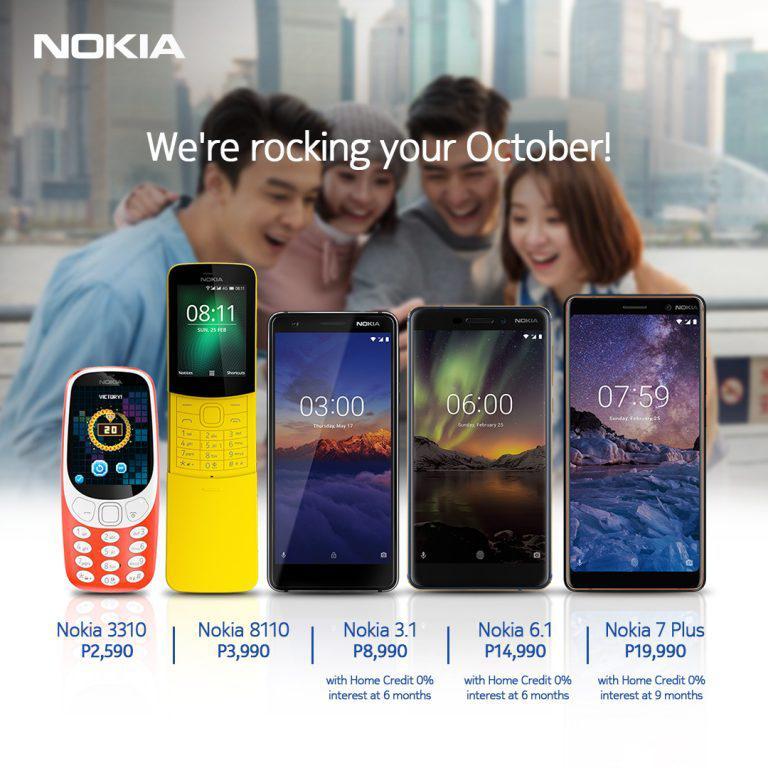 Nokia mobile rocks October with fun deals