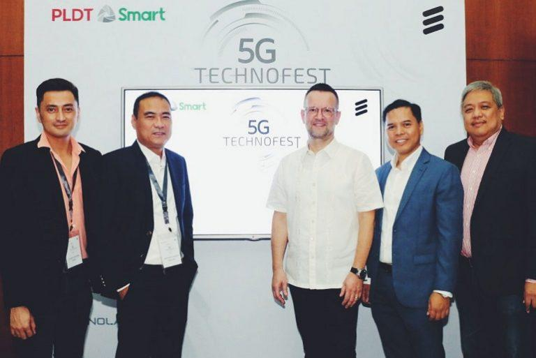 Smart, Ericsson join forces for 5G-ready workforce