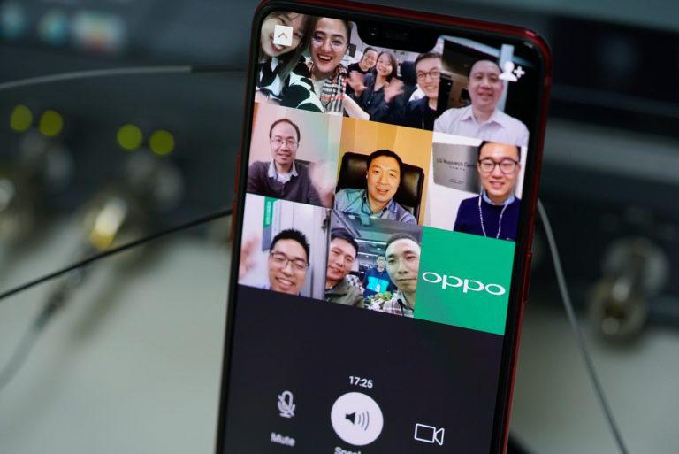 OPPO Completes World's First 5G Multiparty Smartphone Video Call