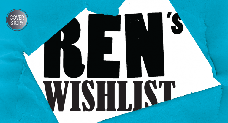 All I Want for Christmas: Ren's Wishlist
