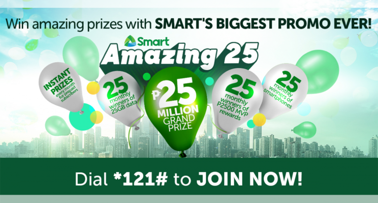 ICMYI: Smart is Giving Away P25M to One Lucky Subscriber
