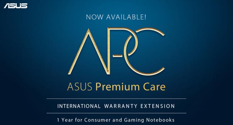 ASUS Philippines Announces ASUS Premium Care (APC) Warranty Extension Package