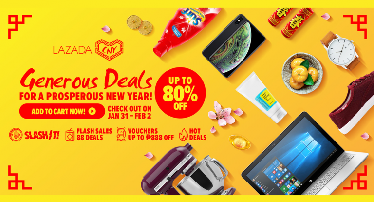 Lazada: Deals & Picks for the Year of the Pig