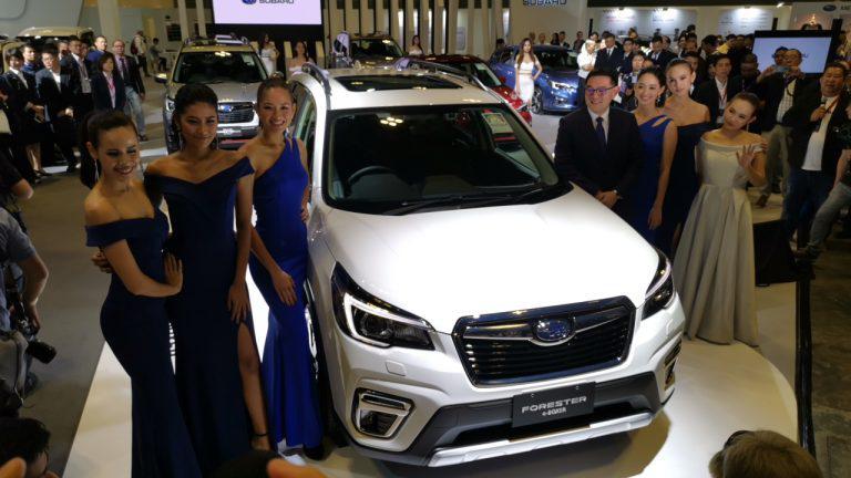 Subaru launches the Forester e-Boxer at S'pore Motorshow