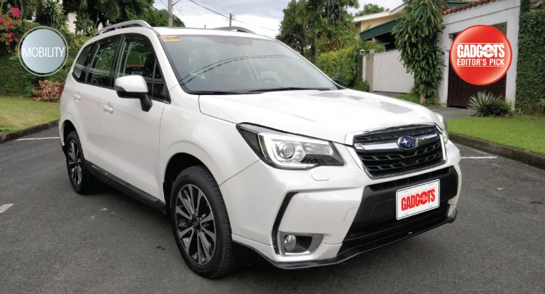 Test Drive: Subaru Forester 2.0 XT Turbo