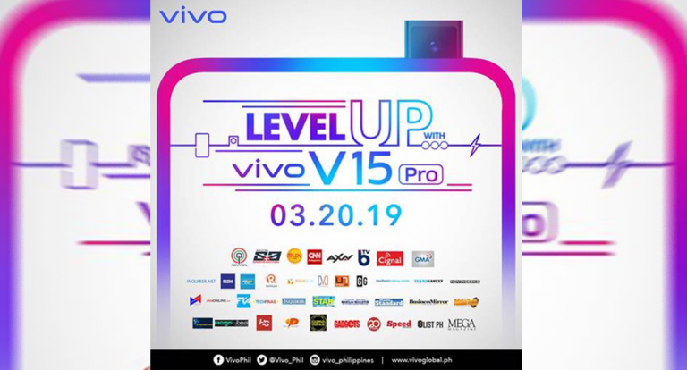 Vivo is Set to Launch the V15 Pro in PH on March 20