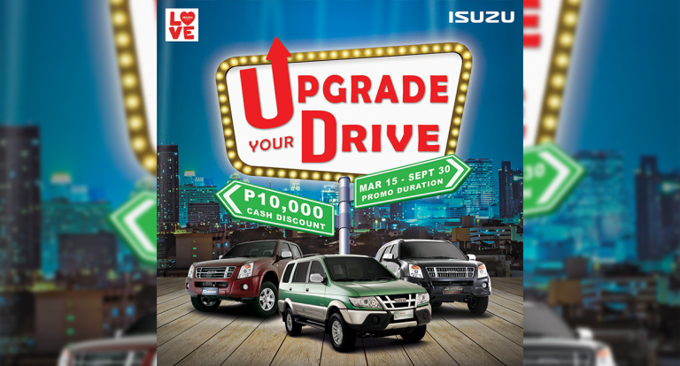 Isuzu Owners Enticed to 'Upgrade their Drive' in New Promo