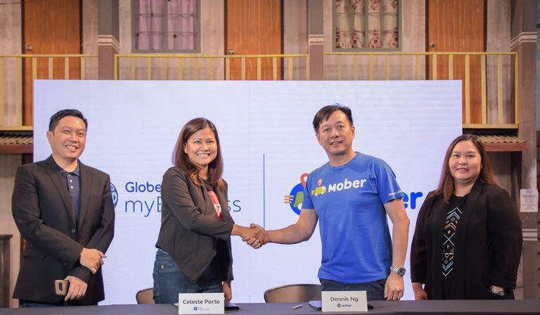Mober, Globe myBusiness provide SMEs with reliable logistical service