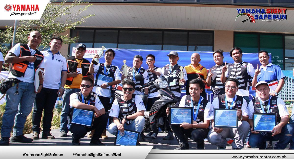 Yamaha Philippines Recently Holds the First Leg of Sight Safe Run