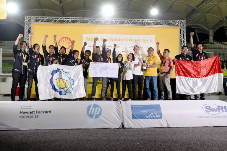 11 student teams from the Philippines part of the Shell EcoMarathon Asia