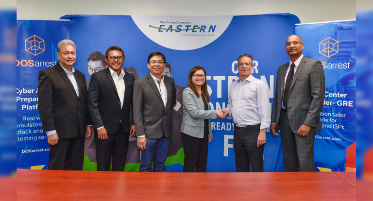 Eastern Communications seals partnership with global cybersecurity firm DOSarrest