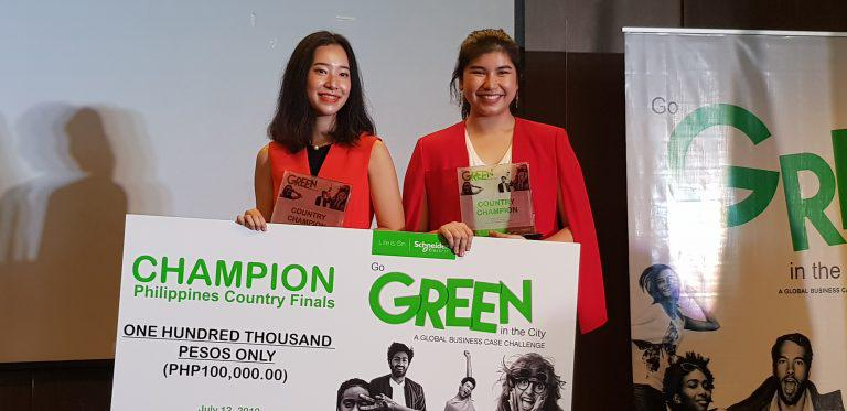 Ateneo students to represent PH at Schneider Electric's 'Go Green in the City' APAC finals
