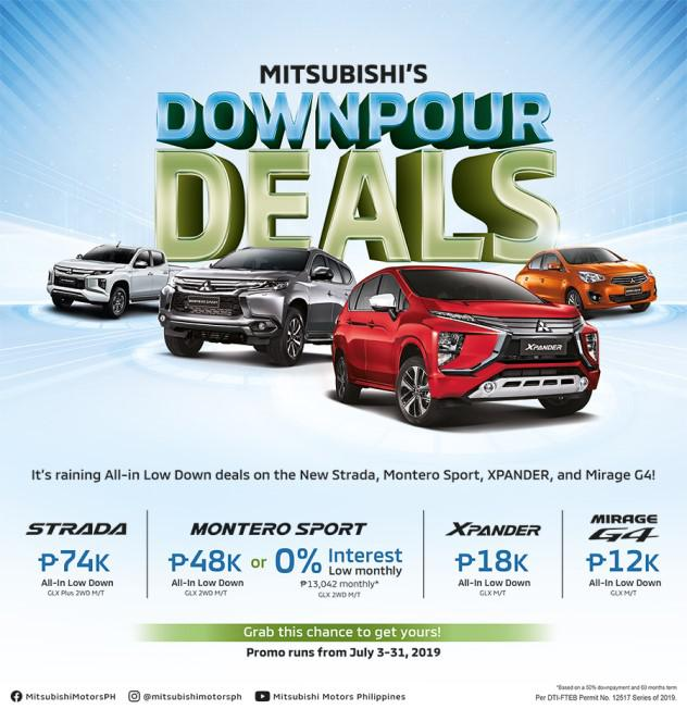 Mitsubishi Offers All-In Promos