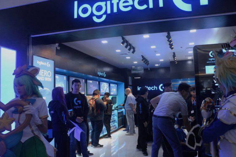 Logitech opens first Logitech G concept store