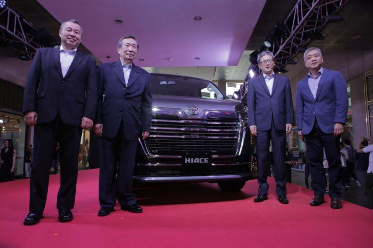 Toyota launches All-New Hiace Super Grandia