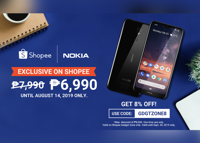Shopee exclusive: The latest Nokia 3.2 for only PHP 6990