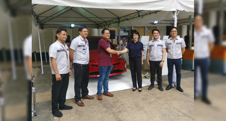 Toyota partners with DLSU for Hybrid Campus Tour