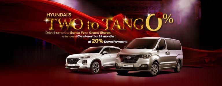 """Hyundai offers """"Two to Tango"""" promo"""