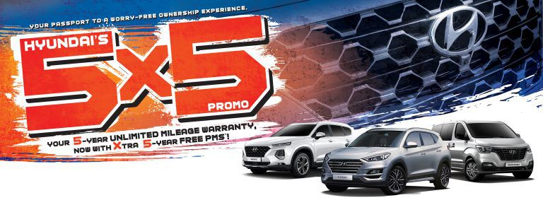 Hyundai gives you 5 worry-free years