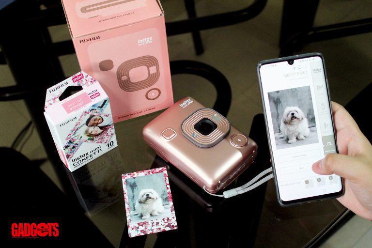 Reviewed: Fujifilm instax mini LiPlay