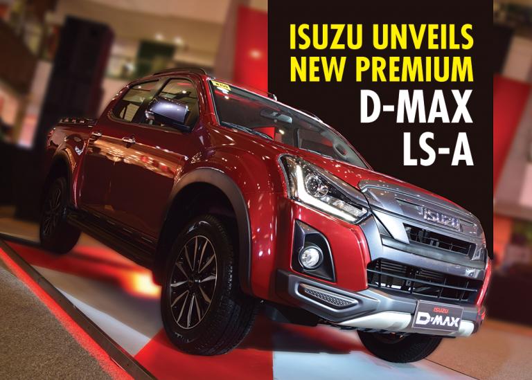 VIDEO: Isuzu Unveils New Premium D-MAX LS-A