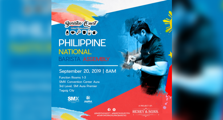 1st PH National Barista Assembly up this September!