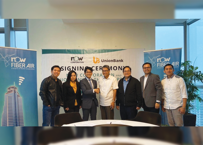 NOW Corp bags UnionBank as its first banking and gigabit client for its NOW Fiber Air