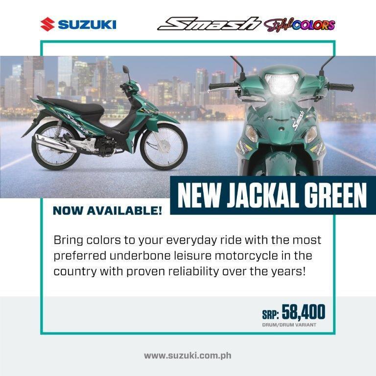 Suzuki launches new color for the Suzuki Smash