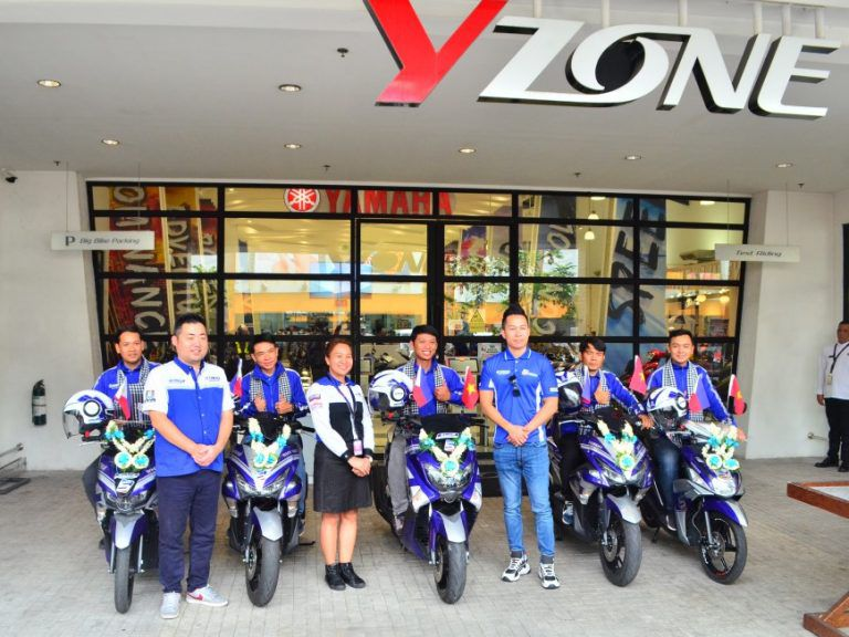Yamaha celebrates 5 year anniversary of Blue Core Engine with Asean tour